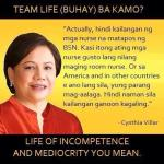 Cynthia Villar Was High On Winnie Monsod Show!